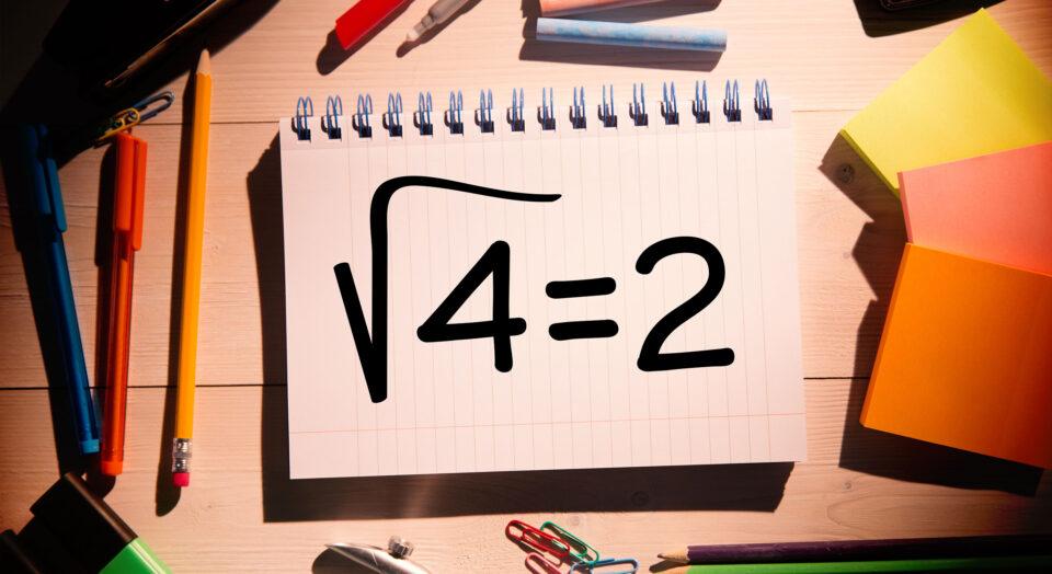 Regne ut kvadratrot matematikk utregning eksempler
