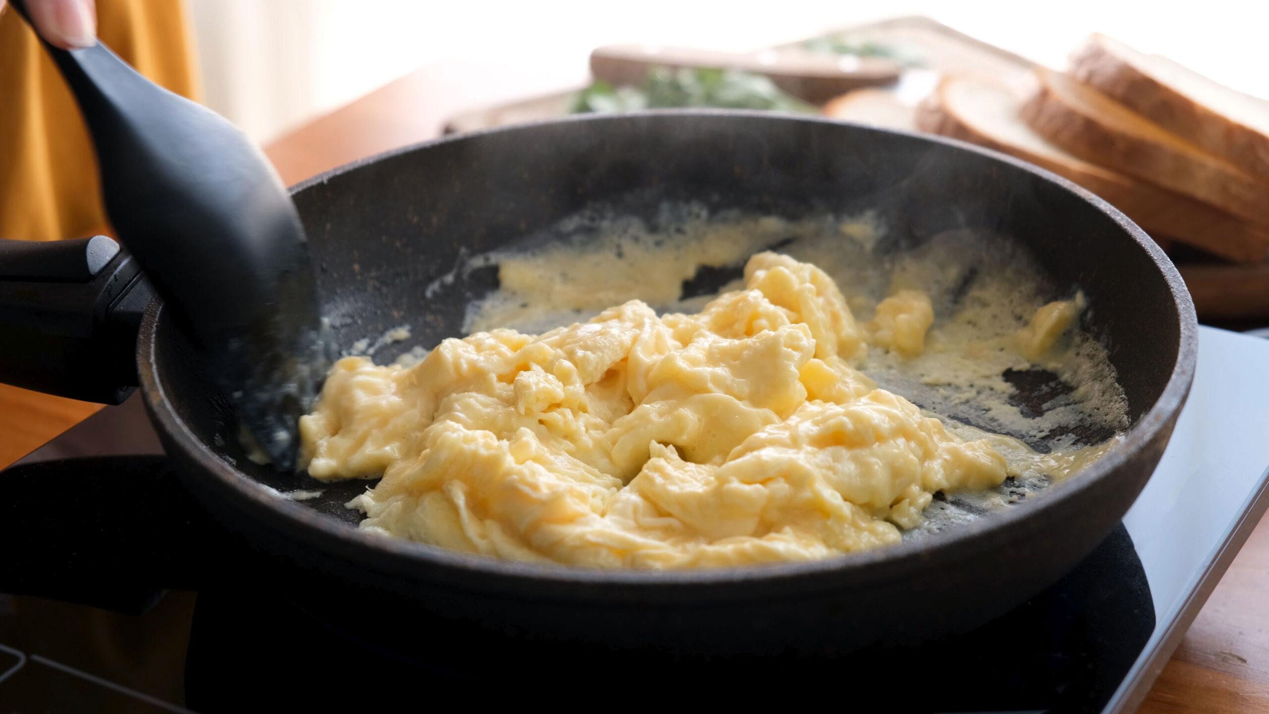 Hvordan lage eggerore tips oppskrift