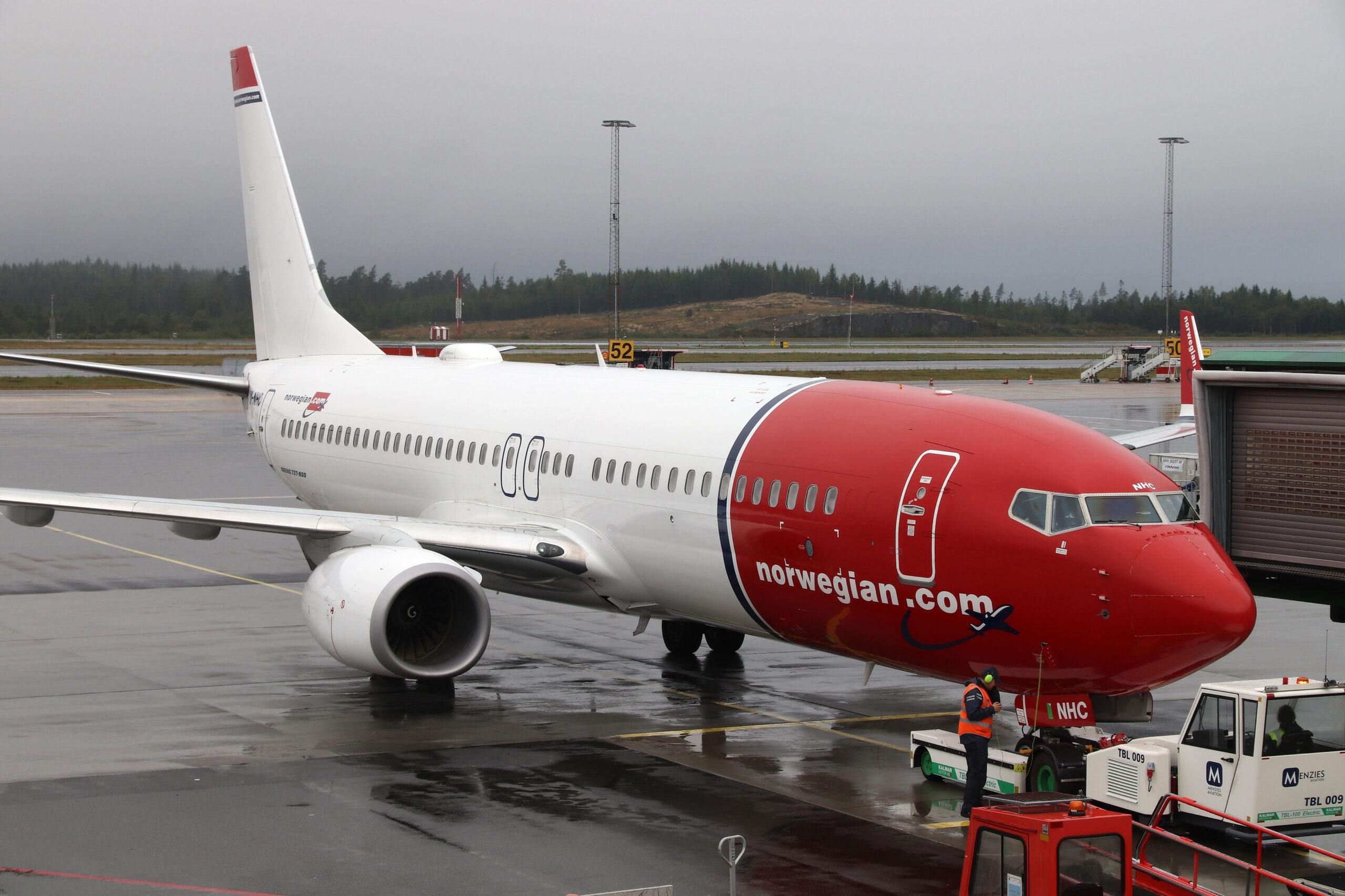 Norwegian flyelskap finne lonnsomme selskap aksjer okonomi