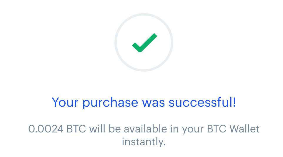 godkjennelse kjøp Bitcoins Coinbase